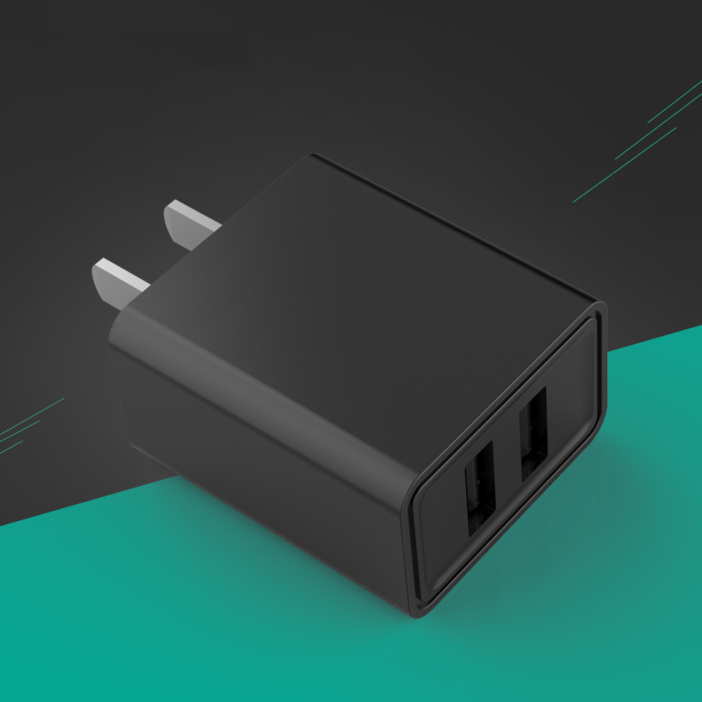 Dual USB Wall Charger 5V 2A